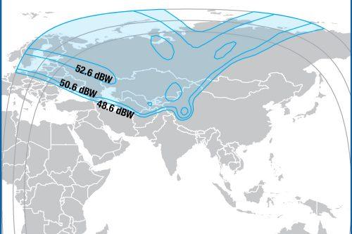 Intelsat Horizons-2 Ku-band Russia beam