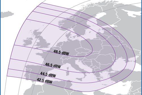 Intelsat IS39 C-band Europe Beam