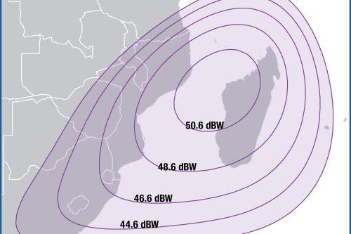 Intelsat IS39 C-band Mozambique Beam