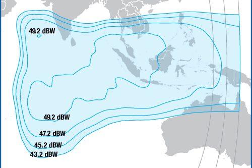 Intelsat IS39 Ku-band East Indian Ocean Beam
