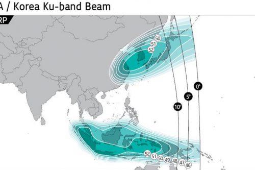 KOREASAT-8 South-East Asia & Korea Ku-band Beam