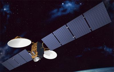 LM1 - ABS-6 satellite in orbit