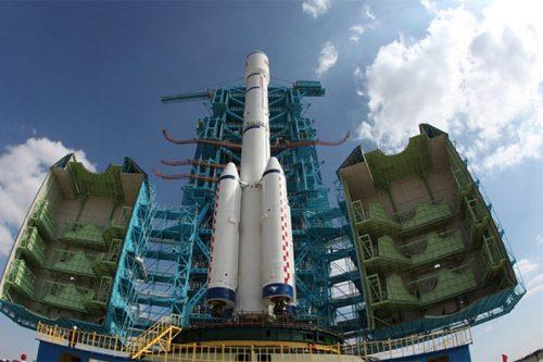 LaoSat-1 on LM-3B:E rocket