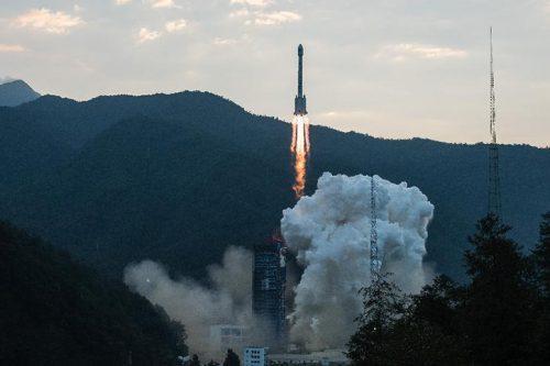 Long March 3B launching APSTAR-9