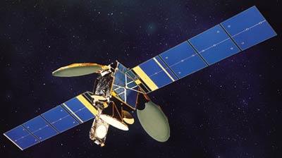 N-Star-c satellite in orbit