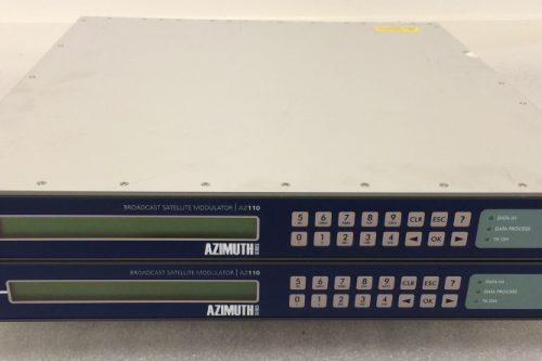 Newtec AZ110 Satellite DVB-S2 Modulator front view
