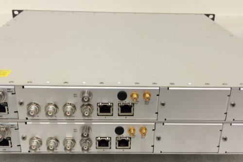Newtec AZ110 Satellite DVB-S2 Modulator rear view
