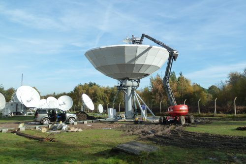 VertexRSI 11.1m C-band Earth Station Antenna with de-icing