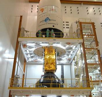 RSQ1R Satellite encapsulation