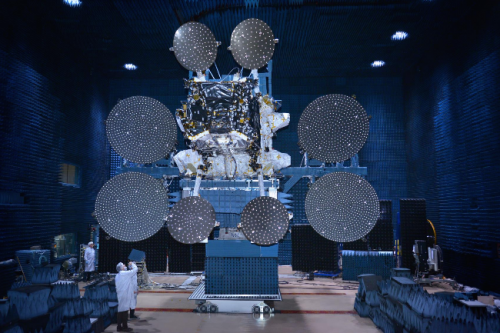 Sky Muster satellite tested by SSL