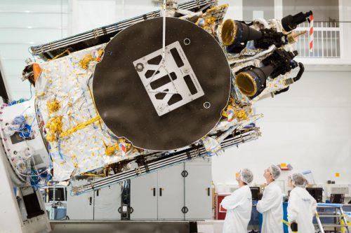 Telkom-3S under construction2