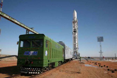 Telstar-11N satellite launch by SiS