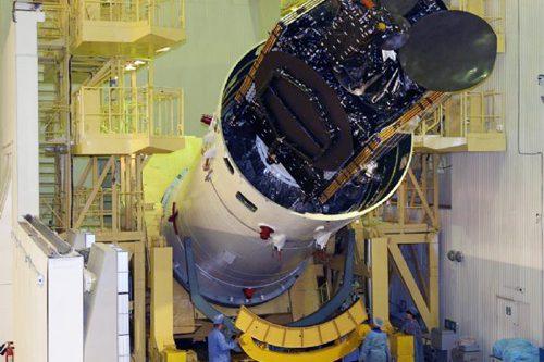 Telstar-11N under construction