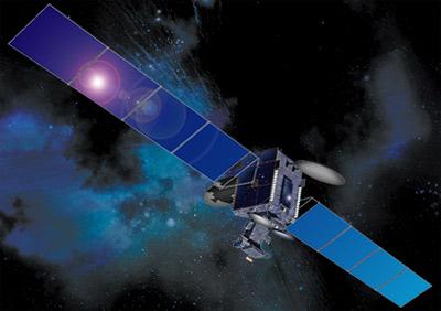 Telstar-12 (Orion-2) satellite in orbit
