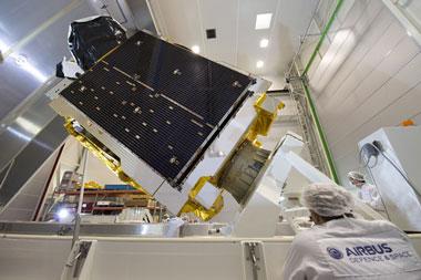 Telstar-12-VANTAGE built by Airbus Defense & Space