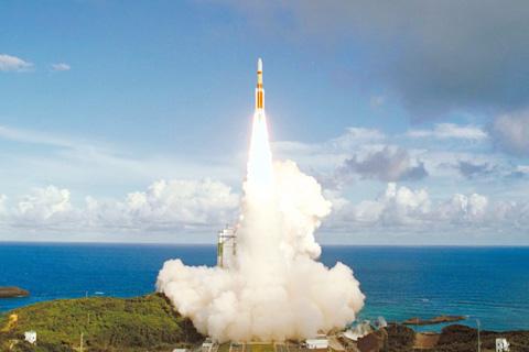Telstar-12-VANTAGE launched by MHI H-IIA 1
