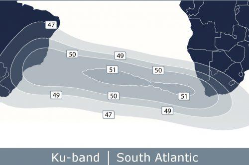 Telstar 12V South Atlantic Ku-band Beam
