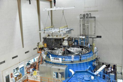 Telstar-14R under construction
