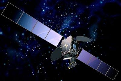 Telstar-18 satellite in orbit