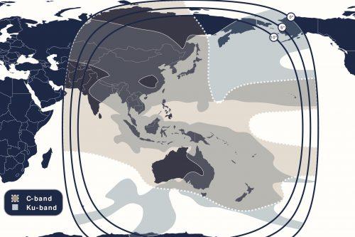 Telstar 18V Global C- & Ku-band Beam