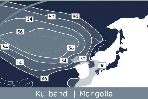 Telstar 18V Mongolia Ku-band Beam