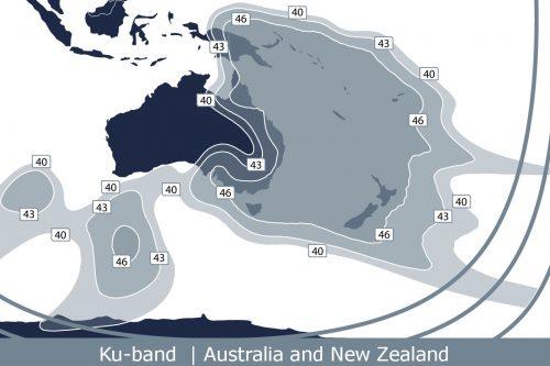 Telstar 18V Oceania Ku-band Beam