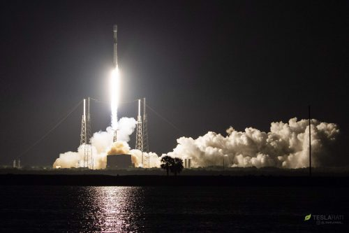 Telstar-18V satellite launched by SpaceX
