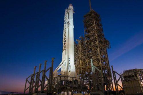 Telstar-18V satellite on SpaceX rocket
