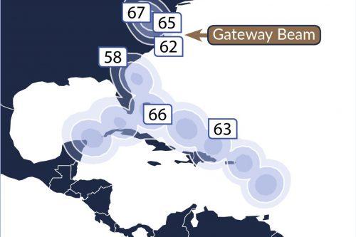 Telstar 19V Caribbean Ka-band HTS Spots