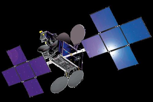 Thaicom-4 satellite in orbit