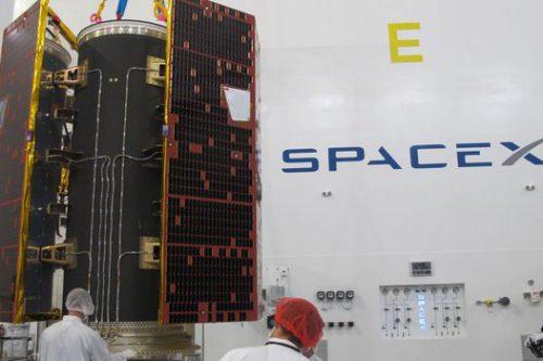 Thaicom-8 satellite encapsulated