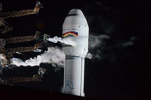 Túpac Katari 1 on LM-3B rocket