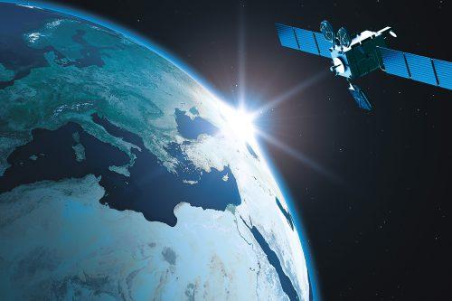 Türksat Satellite in orbit