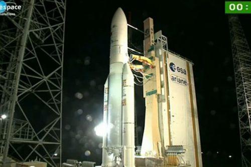 Vinasat-2 satellite on Ariane 5 rocket