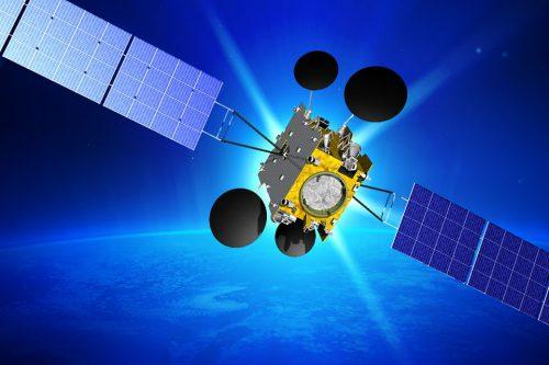 AMOS-5 in orbit