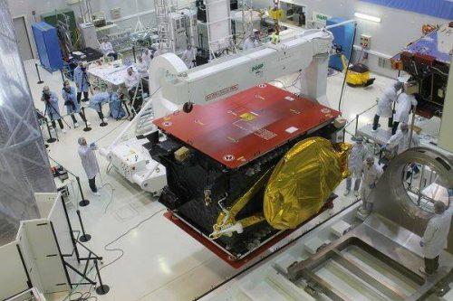 ARSAT-1 built by INVAP
