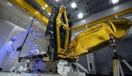 ARSat-1 satellite under test