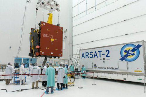 ARSat-2 prepared for transport