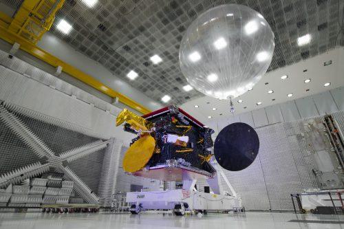 ARSat-2 satellite at Arianespace