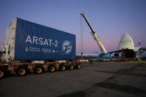 ARSat-2 satellite transport