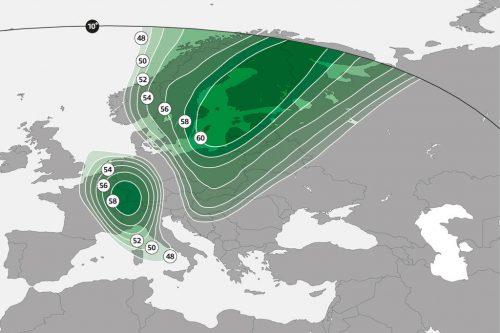 ASTRA-4A Europe interactive Ka-band Beam M