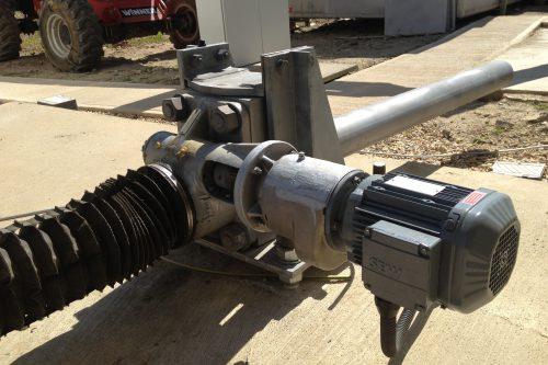 New AZ motor/reductor installed