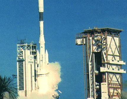 Ariane 44P rocket lifts off