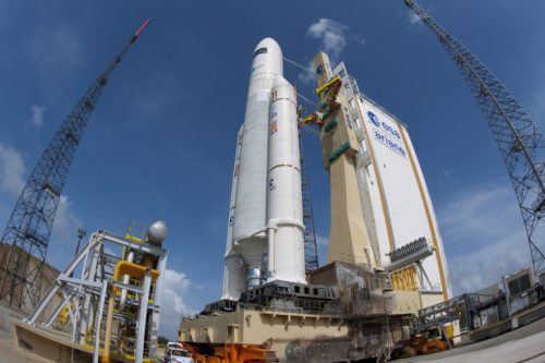 Ariane 5 with KoreaSat-6 ready for launch