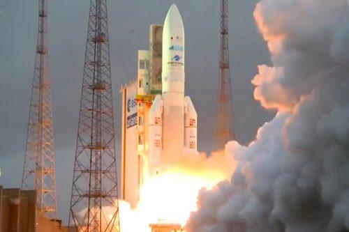 Ariane 5 launching HYLAS 4