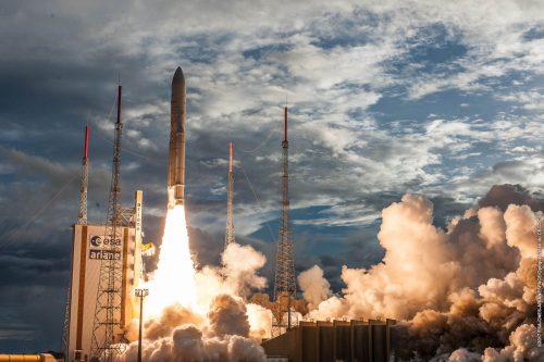 Ariane 5 launching Astra 1N