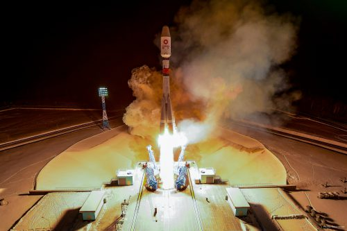 Arianespace Soyuz ST29 OneWeb satellites launch