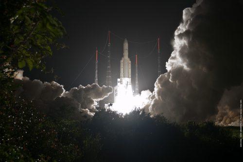 Ariane 5 launching SES Astra 5B & Amazonas-4A