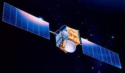 Astra 3A satellite in orbit