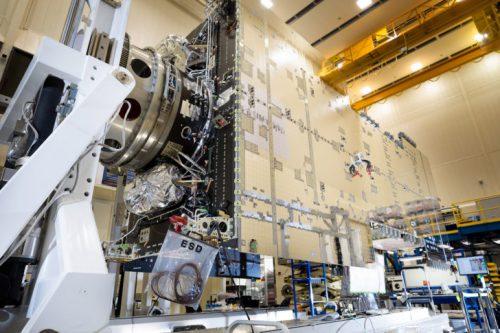 Intelsat-23 satellite under construction